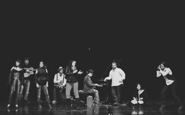 Grupo Alendra, en concierto.